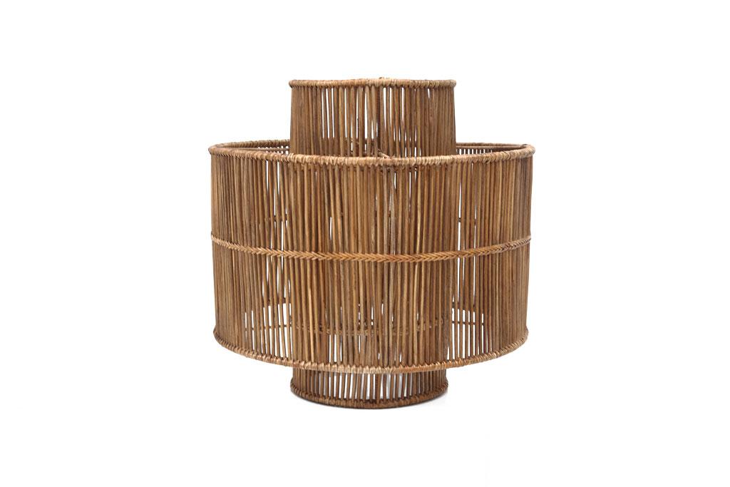Καπέλο Φωτιστικού Οροφής Hemingway L brown (50x50x50) 0460030